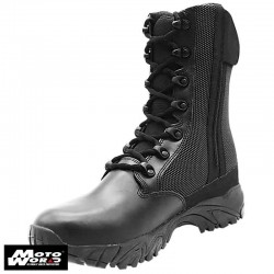 "Altai MFT100-Z 8"" Waterproof Side Zip Black Tactical Boots"