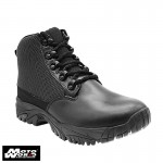 "Altai MFT100-ZS 6"" Waterproof Side Zip Black Uniform Boots"