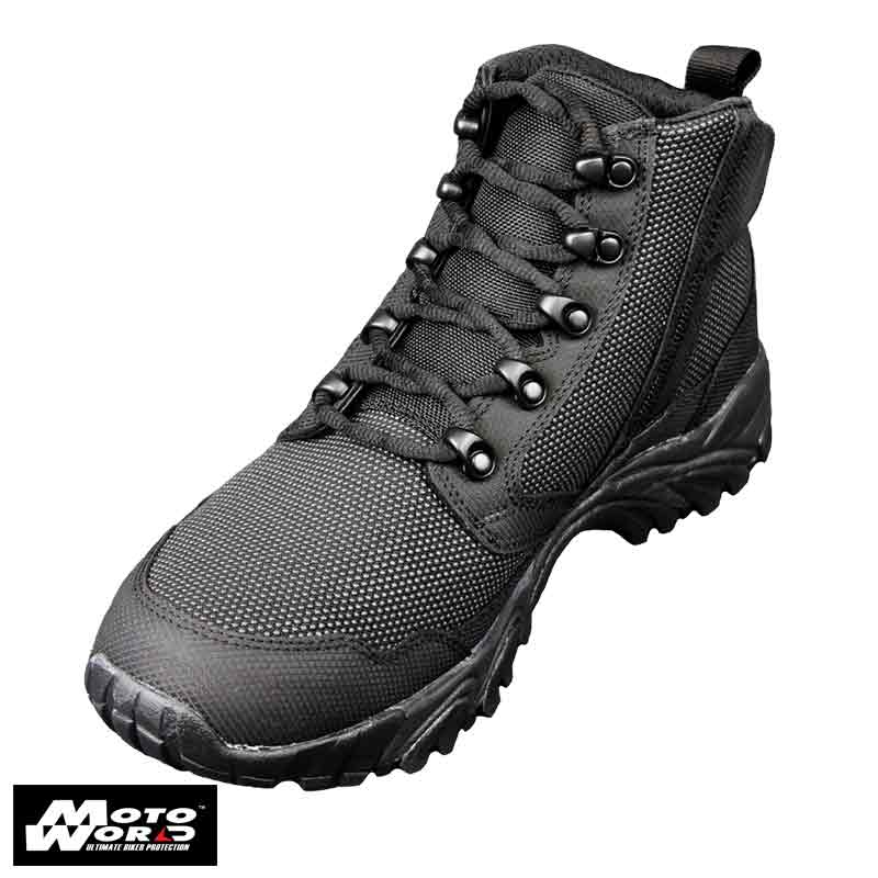 "Altai MFT200-ZS 6"" Waterproof Side Zip Black Tactical Boots"