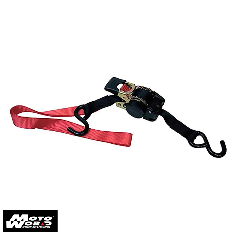 Bike Lift 915010700000 Ratchet Tie Down Straps Automatic Fast RTD6 Motorcycle