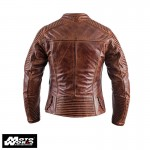 Helstons Razzia Leather Camel Jacket