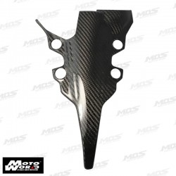 HMW Y-MT-9-6-C01 Carbon Fiber Headlight Front Panel Cover for Yamaha MT09/FZ09 17-18