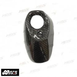 HMW Y-XM3-HY012-C01 Carbon Fiber Exhaust Pipe Muffler Cap Yamaha X-MAX