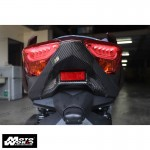 HMW Y-XM3-HY016-C01 Carbon Fiber Taillight Lower Cover for Yamaha X-MAX