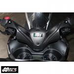 HMW Y-XM3-HY019-C01 Carbon Fiber Handlebar Side Cover for Yamaha X-MAX