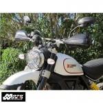 Barkbusters BHG-067-00-NP Black Handguard for Ducati Scrambler