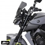 "MRA ""NRN"" Racing Windscreen for Yamaha MT09/SP/FZ09/SP 17 - Black"