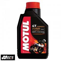 MOTUL 7100 4T 10W50 Two Wheeler Engine Oil 1 L