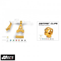 DMV DIDMKHO01G Gold Damper Mounting Kit