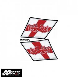 Motografix TKL001SG Triumph Style Sprint Kneepad 05-10