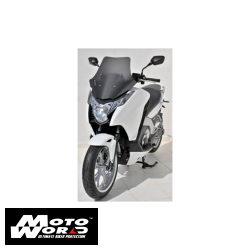 Ermax 030183129 Satin Grey Scooter Windshield for 700 Integra 12-13