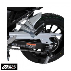 Ermax 7301T0600 Unpainted Rear Hugger for Honda CB500X 2019