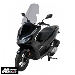 Ermax 0101P9454 85CM Grey High Protection Windshield for Honda PCX125-150 18-19