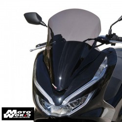 Ermax 0101S9454 Grey High Protection Windshield for Honda PCX125-150 18-19