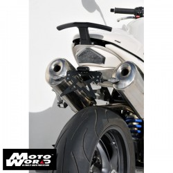 Ermax 772112020 White Wheel Well Undertail for Triumph Speed Triple 1050 05-07