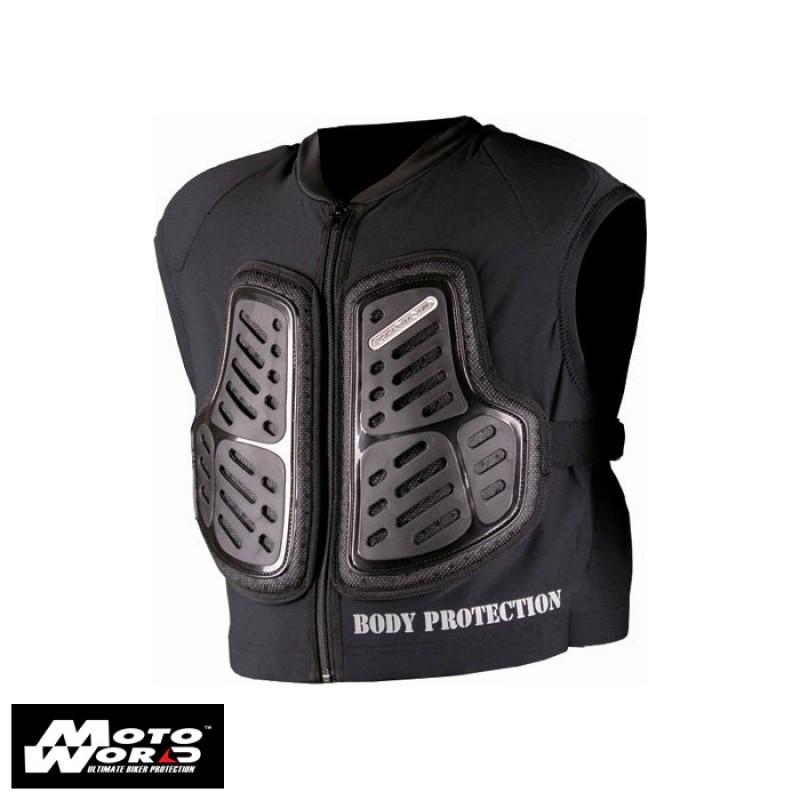 Komine SK-620 Black Body Protection Inner Vest