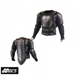 Komine SK-622 Black Full Armored Body Jacket