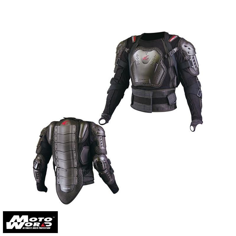 Komine SK-622 Black Full Armored Body Jacket