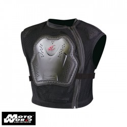 Komine SK-623 Black Body Armored Vest