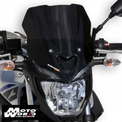 Ermax 060203129 Light Black Nose Windshield for MT-03 16-17