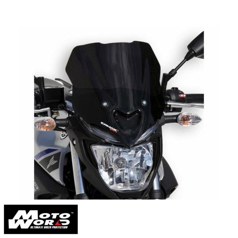 Ermax 060254129 Grey Nose Windshield for MT03 2016 30.5cm