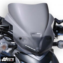 Ermax 060454108 Grey Nose Windshield for GSXS1000 15-16 37cm