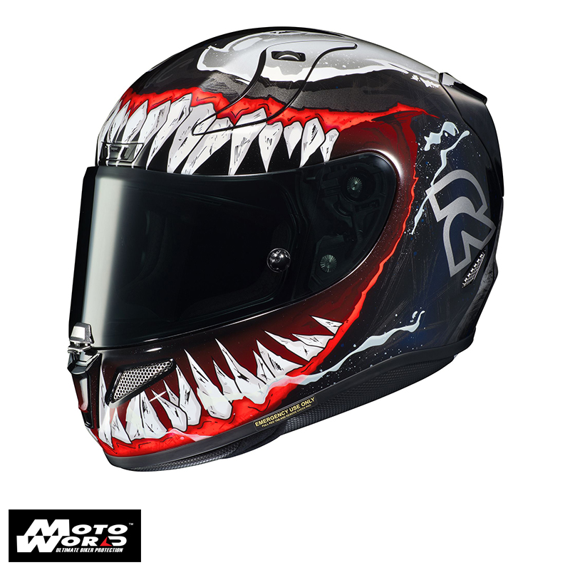 HJC RPHA 11 Venom 2 Marvel MC1 Full Face Motorcycle Helmet