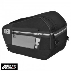 Oxford OL445 F1 Large 55 Litre Black Pannier Bag