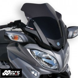 Ermax 030403110 Light Black Sport Windshield for Burgman 650/Executive 2013/2018