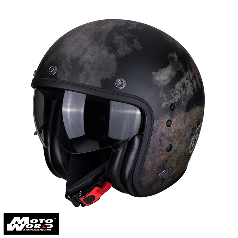 Scorpion Belfast Tempus Black Helmet