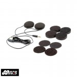 U Clear Wired Drop in Helmet Speakers With In-Line Controller HDS20