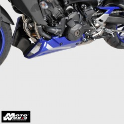 Ermax 8902Y2214 Metallic Blue Belly Pan for Yamaha MT-09 FZ9 17-19