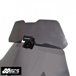 Ermax 010554L03 Grey Clip and Flip Universal Screen Deflector Wide with Fitting Kit