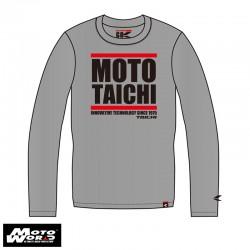 RS Taichi RSU063GRAYL Moto Long Sleeve T-Shirt