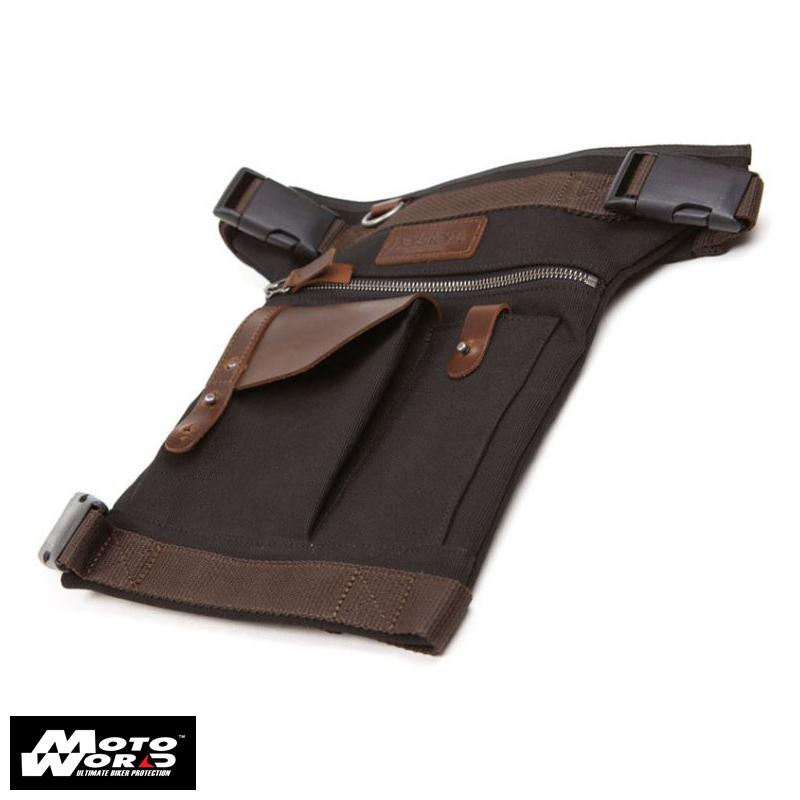 Helstons Leather Leg Bag