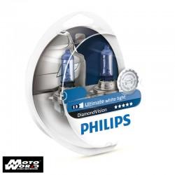 Philips 12342DV H4 Diamond Vision Headlight Bulb