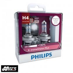 Philips 12342XV H4 X-treme Vision Headlight Bulb