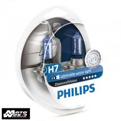 Philips 12972DV H7 Diamond Vision Headlight Bulb