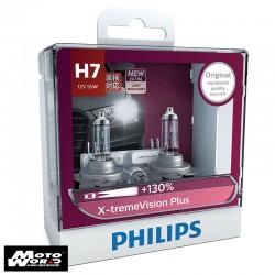 Philips 12972XV H7 X-treme Vision Headlight Bulb