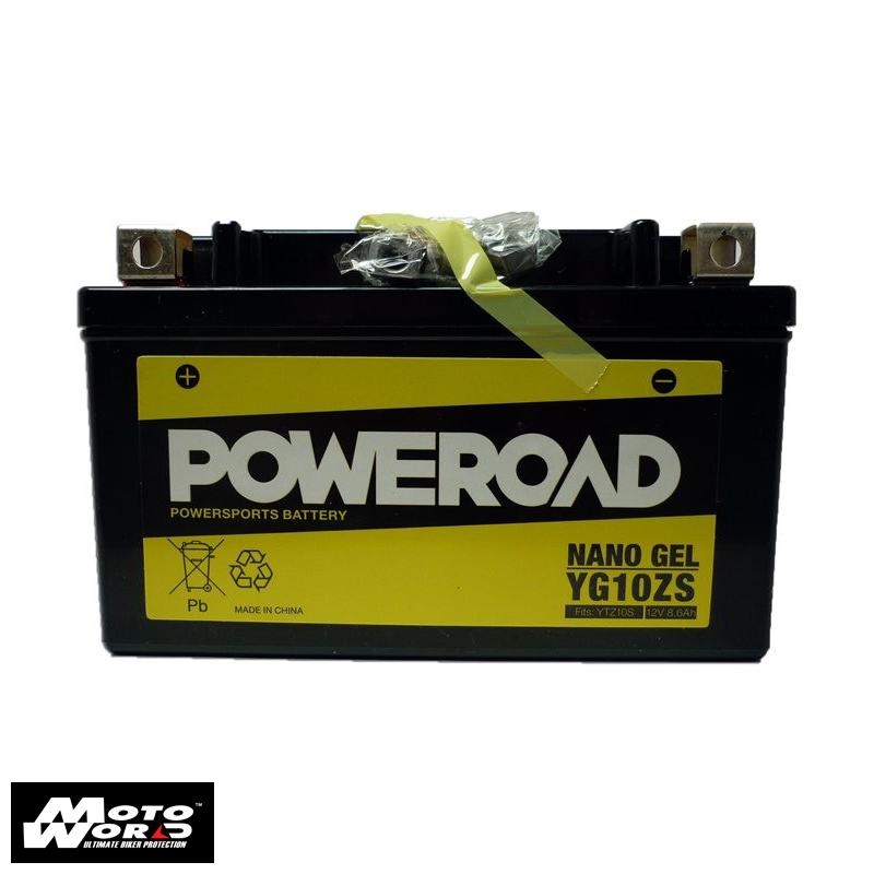 Poweroad YG10ZS Maintenance Free Battery