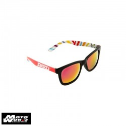 SNRD Zebra Black Sunglasses