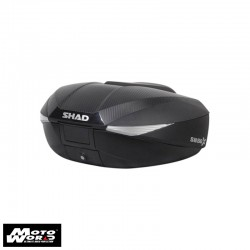 SHAD SH58 Black with Carbon Cover Top Case