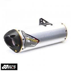 TBR 0051710406V M7 Standard Aluminum Slip-On Exhaust for Kawasaki KLX250S 06-14