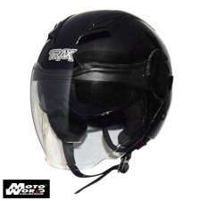 TRAX T-729 Open Face Motorcycle Helmet