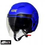 TRAX T-729 Open Face Helmet