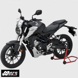 Ermax 0601S91-18 Nose Screen Windshield for Honda CB125R 2018 Black