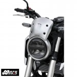 Ermax 0601S91-18 Nose Screen Windshield for Honda CB125R 2018 Black