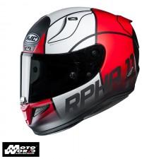 HJC RPHA 11 MC1SF Quintain Full Face Motorcycle Helmet