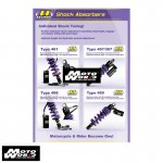 Hyperpro YA055ABSXH Full Adjustable Shock for Yamaha XP530 T-Max 17