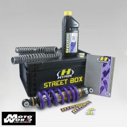 Hyperpro SBYA030ABH Streetbox Suspension Kit for Yamaha YZFR3 15-16